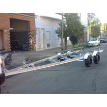 Trailer Galvanizado En Upn Para Lancha ,jet ,o Moto De Agua