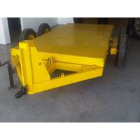 Trailer Autoelevador Minicargador Bobcat Auto-cargable