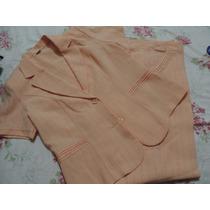 Hermoso Conjunto De Vestir (chaqueta Y Pantalón)
