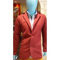 Saco Slim Fitt Algodon Rustico Premium Moda 2016 Klaus Men!!