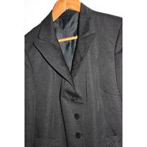 Saco De Vestir Alta Costura - Talle M - Blazer Mujer
