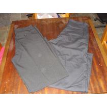 Pantalones De Vestir Para Hombre, Color Negro, Oportunidad!!