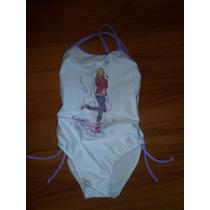 # Traje Baño - Malla Hannah Montana Para 3-5 Años # Princesa