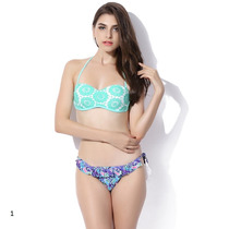 Bikini Colecciòn Lourdes Farrel Dos Piezas Mallas Traje Baño