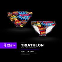 Malla Turbo Triathlon - Slip Para Natación Y Waterpolo