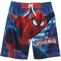 Malla, Traje De Baño, Modelo Spiderman. Importada.