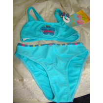 Malla Traje De Baño Bikini Niña Talle 4
