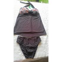 Tankini Malla Bikini Con Tasa Soft