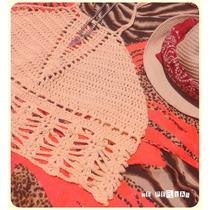 Crop Top Tejido Crochet Verano 2015 Summer