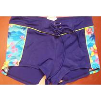 Short De Bikini Surf Estampado Separates Orginal Con Cordon