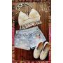 Crop Top Al Crochet Bikini Flecos
