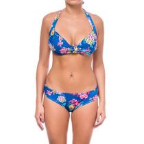 Bikini Mujer Kevingston Ciruela