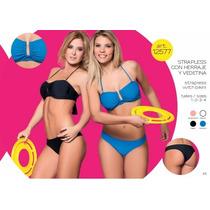 Malla Bikini Cocot 12577 Strapless C/vedetina T85/90/95/100