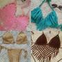 Top Bikini Tejida En Crochet