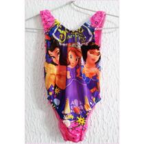 Trajes De Baño Mallas Nenas Barbie9/10 Y Princesas 6/7 Años