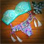 Bikini Colecciòn Lourdes Farrel Mallas Para Baño Dos Piezas