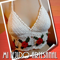 Bikinis, Mallas Y Tops´s Tejidos Al Crochet