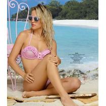 Malla Bikini Marcela Koury Strapless Y Bretel Vedettina