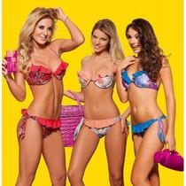 Malla Bikini Cocot 12572 Micromasaje Delhi C/tanga T4/100