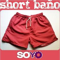 Short De Baño Hombre Corto Malla Soyyo