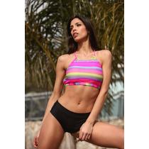 Bikini Con Top Y Culotte Tout