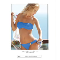 Bikini Bandeau Torza Soft Y Vedetina Marcela Koury(art.3271)