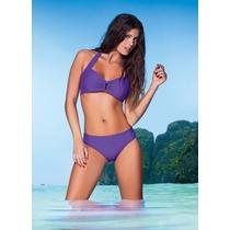 Malla Bikini Cocot 12507 C/herrajes Vedetina T3 Viol T2 Ne