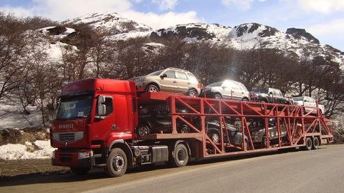 Transporte De Autos Ushuaia - Río Grande - Buenos Aires