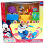 Mickey Mouse Clubhouse Disney Set De Tren En Plastico Soft