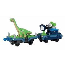 Chuggington Die Cast Dinosaurio Y Tren Camara De Control