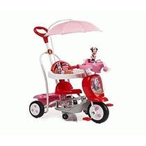 Triciclo Minnie Direccional Original 2 En 1