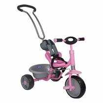 Triciclo Kiddy Con Manija Direccional Ktricycle Bb Feliz
