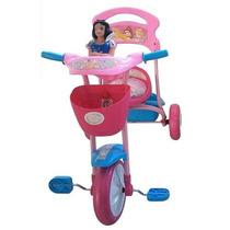 Triciclo Princesas Disney Reforzado Con Canasto