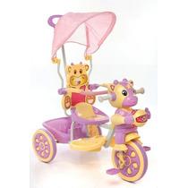 Triciclo C/carita, Capota Y Canasto- Imperio