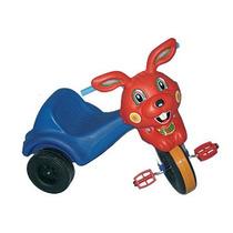 Triciclo Choper Conejo 2-4 Años Cuerpo Caño Rodacross Jiujim