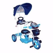 Triciclo Infantil Solo Azul