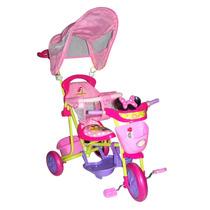 Triciclo Disney Mickey Minnie Cars Princesas Xg-8001 - Tkc