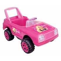 Jeep Barbie A Varilla Pedal Bocina Sin Uso Nuevo!