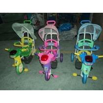 Triciclo Modelo Nave Musical+ Barral +capota+apoyapies