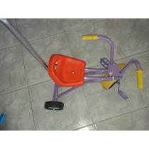 Triciclo Chapa Y Goma Super Resistente Nacional Con Repuesto