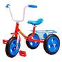 Triciclo Infantil A Pedal Rdas Macizas Caño Reforzado Niño/a