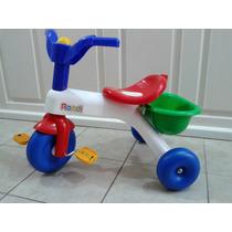 Triciclo Rondi Nene Con Barral