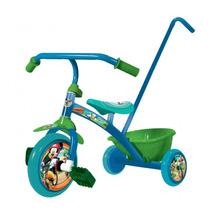 Triciclo Little Mickey Mouse Unibike Original Con Garantia