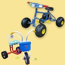 Cuatriciclo+triciclo! Combo! Directo Fábrica! Art.658+574