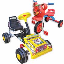 Karting + Triciclo! Combo! Directo Fábrica! Art.605 + 503
