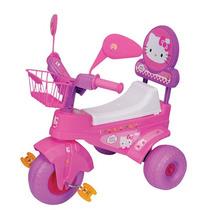 Triciclo Kitty Con Espejos Y Canasta-