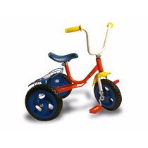 Triciclo Infantil A Pedal Nene Nena Caño Reforzado C/canasto