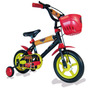 Bicicleta Infantil Cars Rod.12 Disney