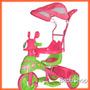 Triciclo+moto+ Manija+capota+musical +cuotas Sin Interes!!