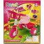 Triciclo Infantil Con Manija Rondi Pink Metal